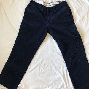 Men's Corduroy Polo Pants 30/36
